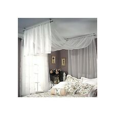 studio ceiling mount curtain drapery rod three colors three sizes