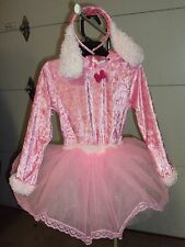 Halloween Costume Pink Poodle Dress Up Outfit Size 3T