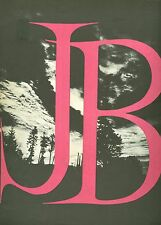 J.B. souvenir theatre program John Carradine Shepperd Strudwick Elia Kazan