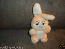 Vintage Gerber Plush Doll Figure Stuffed Animal Toy Pink Bunny