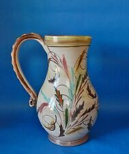 DENBY GLYN  COLLEDGE JUG 9 INCHES HIGH SIGNED