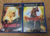 Devil May Cry 2 & 3 Game Bundle Sony Playstation 2 PS2 - Free P&P