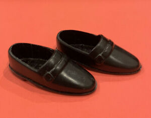 Vintage 1980s Barbie Ken Black Loafers Dress Shoes Malaysia