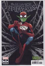 🔥 THE AMAZING SPIDER-MAN #15 Lee Garbett Skrulls VARIANT Cover B Marvel NM+🔥