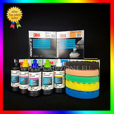 3M Perfect it: 5x 250 gr compounds + 5x 3M polishing pads (150 mm) FAST SHIPPING
