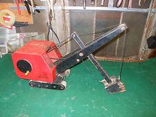 Vintage Antique Crane Huge Model Sand Digger Trencher Steel Sparks Bourne Handy