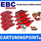 EBC PASTILLAS FRENO delant. + eje trasero Redstuff para Nissan 350Z Z33 DP31636C