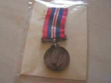 MEDAILLE  king georges silver  anglaise 1939   1945  (ref 6000)