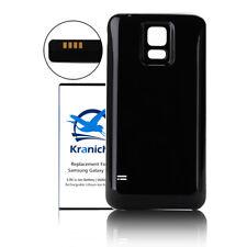 Handy Akku Hülle Ersatzbatterie 5600mAh Case NFC für Samsung Galaxy S5 I9600 DE