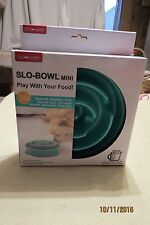 NEW, DOG GAMES SLO-BOWL MINI, PLAY WITH YOUR FOOD, FUN, NATURAL AND HEALTHY