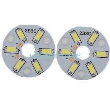 5PCS 5730 3W White LED Emitting Diode SMD Highlight Lamp Panel LED Board CA