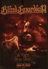 BLIND GUARDIAN A Voice In The Dark Promo Poster  gefaltet / folded  Sammlerstück