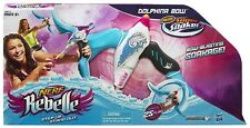 Nerf Rebelle Dolphina Bow Blaster New Toy Ages 6+ Girls Boys Play Soaker Water