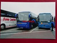 PHOTO  SHEARING COACHES GT03 LLL & MX03 AEN AT BRENTSIDE BUS STATION