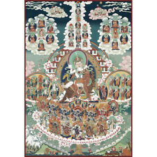 Wooden Jigsaw Puzzles 500 PCS Thangka Painting Nyingma Lineage Art Collectibles