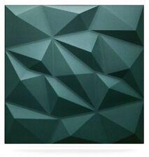 5qm/20 Stück 3D Wandpaneele Deckenpaneele Platten Paneele DIAMANT grün