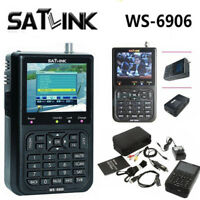 SATlink WS-6906 3.5'' Satellite Finder DVB-S  Digital FTA  Signal Finder Meter