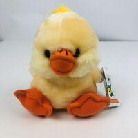 "Old McDonald's Farmyard Friends Dani Duck Plush 7"" Length Multi Colors CLEAN!"