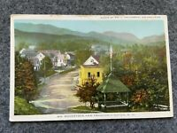 North Woodstock and Franconia Notch, New Hampshire  Vintage Postcard