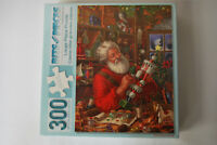 300 Large Piece Jigsaw Puzzle Workshop Santa Bits and Pieces