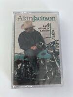 New SEALED Alan Jackson Lot About Livin' Cassette Tape -1992