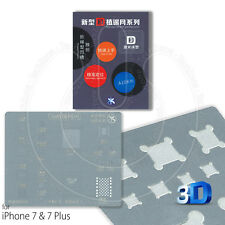 Mijing A10 3D BGA Stencil IC De Reparación De Calor Directo Para Apple iPhone 7 y 7 Plus