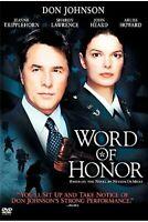 Word Of Honor DVD 2003 Drama Movie - Don Johnson, Jeanne Tripplehorn