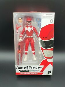 NEW Hasbro Mighty Morphin Power Rangers Lightning Collection Red Ranger Figure