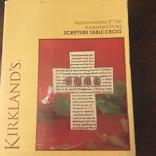 Kirkland's Scripture Table Cross