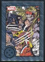 2013 Marvel Greatest Battles Trading Card #37 Wolverine vs. Omega Red
