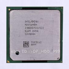 Intel Pentium 4 SL6HL SL6QB SL6S4 Socket 478 2.8 GHz 533 MHz CPU Processor