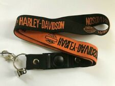 Harley Motorbike Stretchy Lanyard NEW UK Seller Car Keyring ID Holder Strap