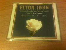 CDs ELTON JOHN SOMETHING ABOUT THE WAY YOU LOOK TONIGHT 3 TRACKS UK PS 1997 LOR1