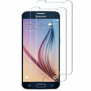 2X Schutzglas Glasfolie für Samsung Galaxy S6 Display Schutz Folie Full Screen
