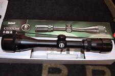 Bushnell Custom 4-12x40mm AO Matte Black Rifle Scope Multi-X 814124