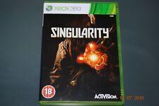 Singularity Xbox 360 PAL **FREE UK POSTAGE**