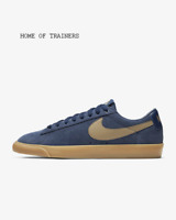 Nike SB Blazer Low GT Midnight Navy Gum Light Brown Men's Trainers All Sizes