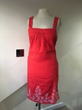 size 18 strappy pink linen tunic dress marks and spence new stunning detail
