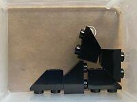 LEGO Parts - Black Slope Inverted 45 2 x 1 - No 3665 - QTY 5