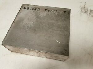 Aluminiumplatte 203 x 193 x 70 mm aus EN AW-6082 T651 - Hochfest 5/5