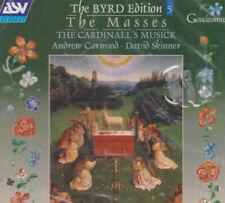 BYRD  Masses 3/4/5  voices organ fantasia CARDINALL'S MUSICK  Carwood