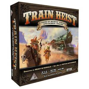 Train Heist Cooperative and Versus Board Game By Cryptozoic Entertainment