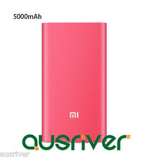 Xiaomi 5000mAh USB External Mobile Power Bank Portable Battery Charger Hot Pink