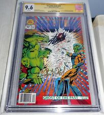 Incredible Hulk #400 CGC SS 9.6 Dual Signature Autograph STAN LEE & PETER DAVID