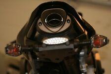 Honda CBR600RR 2007-2012 black R&G racing tail tidy number plate holder bracket