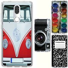for Coolpad Legacy(Clear) Slim Flexible TPU Skin Phone Case Cover-H