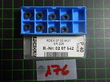 8x Pokolm RDEX 0702MOT; SR226; NEU & OVP