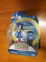 "Jakks Sonic The Hedgehog 4"" Sonic Figure with Snowboard NEW Sega FREE SHIPPING"