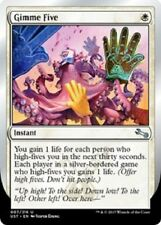 4x Gimme Five  Unstable Cards Magic the Gathering MTG Fresh pack