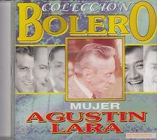 Agustin Lara Coleccion Bolero CD New Sealed